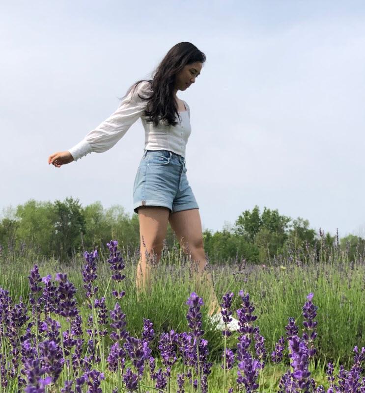 walk in field